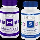 BIOHEAL® KALCIUM 500 MG + D3-VITAMIN + K2-VITAMIN 70 db VAGY VALERIANA KOMPLEX KAPSZULA 70 db