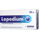 Lopedium 2 mg kemény kapszula 20 db