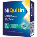 NIQUITIN® CLEAR TRANSZDERMÁLIS TAPASZ 21 MG 7 db