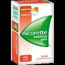 NICORETTE® FRESHFRUIT GUM 4 MG GYÓGYSZERES RÁGÓGUMI 30 db